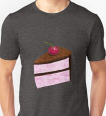 Chocolate Cherry Cake Unisex T-Shirt