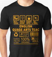 ENGLISH LANGUAGE ARTS TEACHER - NICE DESIGN 2017 Unisex T-Shirt