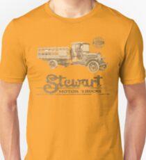 Vintage Advertisement for Stewart Motor Trucks - weathered look T-Shirt