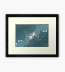 n°324: Mountain view part 3 Framed Print