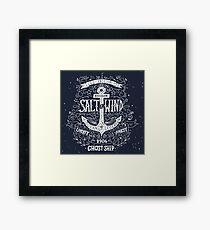 Salt Wind Framed Print