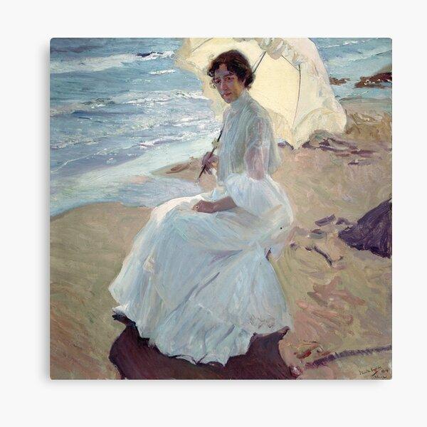 Clotilde on the Beach - Joaquín Sorolla Lienzo