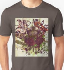 Vintage Music Microphone 2 Unisex T-Shirt