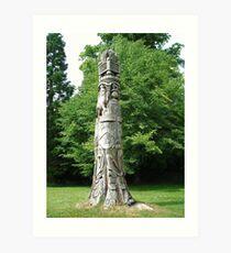 'Totem Pole' Art Print
