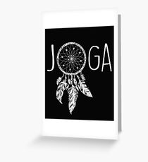 Joga Boho Greeting Card