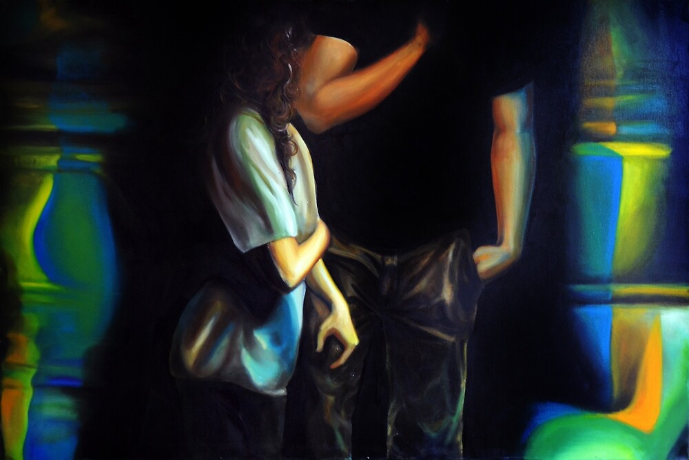 Reverie, 2013, 120-80cm, oil on canvas by oanaunciuleanu