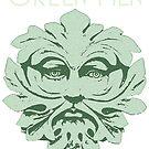 Green Men dark Ts by KJCharles