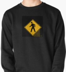 Inked up Cross Walk Pullover