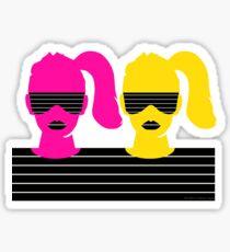 RETRO GIRL -001 Sticker