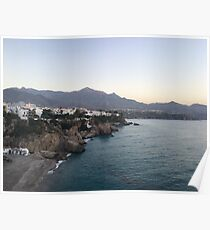 Nerja, a Spanish Town on the Mediterranean Coast Poster