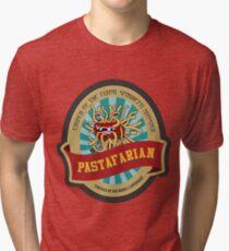 Flying spaghetti monster church Tri-blend T-Shirt