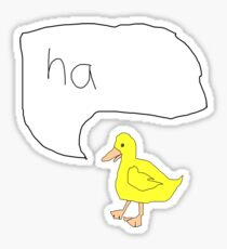 Ugly Duckling Sticker