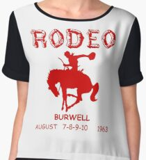 The Original Cassidy RODEO Shirt - Preacher  Chiffon Top