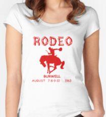 The Original Cassidy RODEO Shirt - Preacher  Women's Fitted Scoop T-Shirt