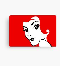 Miss Redhead [iPad / Phone cases / Prints / Clothing / Decor] Canvas Print