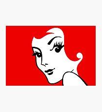 Miss Redhead [iPad / Phone cases / Prints / Clothing / Decor] Photographic Print