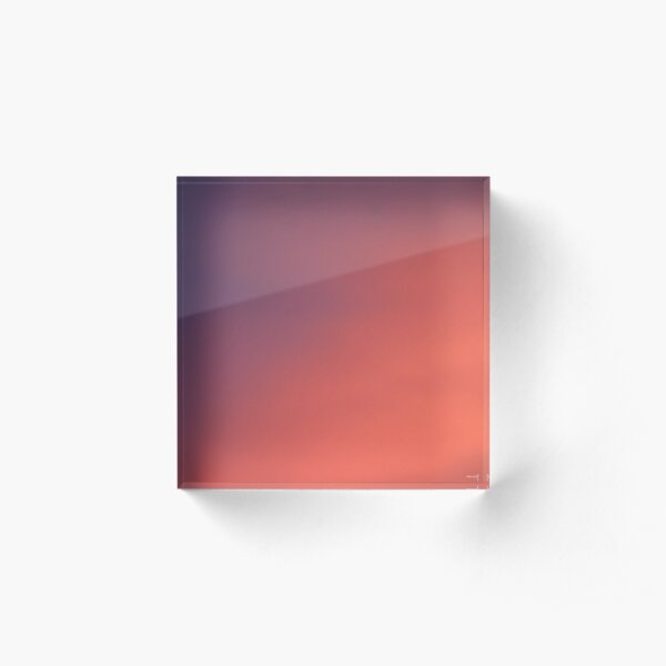 Sky Palette Acrylic Block