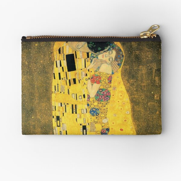 The Kiss - Gustav Klimt Zipper Pouch