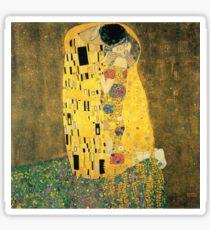 The Kiss - Gustav Klimt Sticker