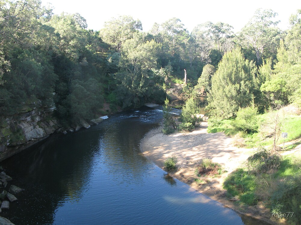Kangaroo Valley - view from bridge by Kylie77