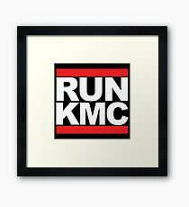RUN KMC Framed Print