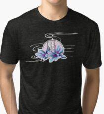 Flower Blossom Tri-blend T-Shirt