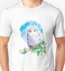 Owl. Moon Unisex T-Shirt
