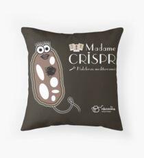 Madame CRISPR Throw Pillow