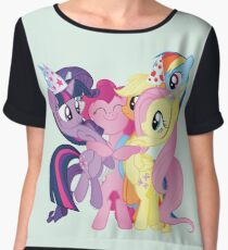 Party Ponies Chiffon Top