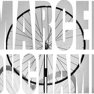 Marcel Duchamp - Bicycle Wheel by Orata