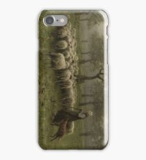 Shepherdess with a Flock of Sheep 1870 - 1888 Anton Mauve iPhone Case/Skin