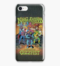 King Gizzard and the Lizard Wizard Gizzfest iPhone Case/Skin