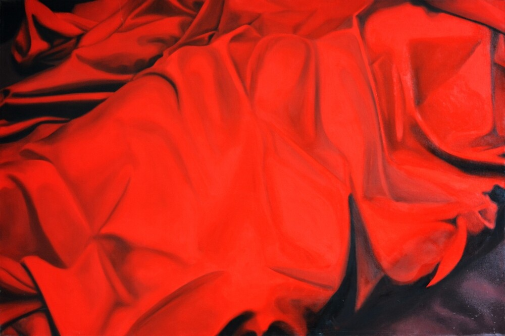 Hidden reality, 2012, 120-80cm, oil on canvas by oanaunciuleanu