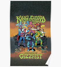 King Gizzard and the Lizard Wizard Gizzfest Poster