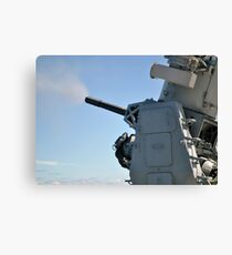 The Phalanx Close-in Weapon System. Canvas Print