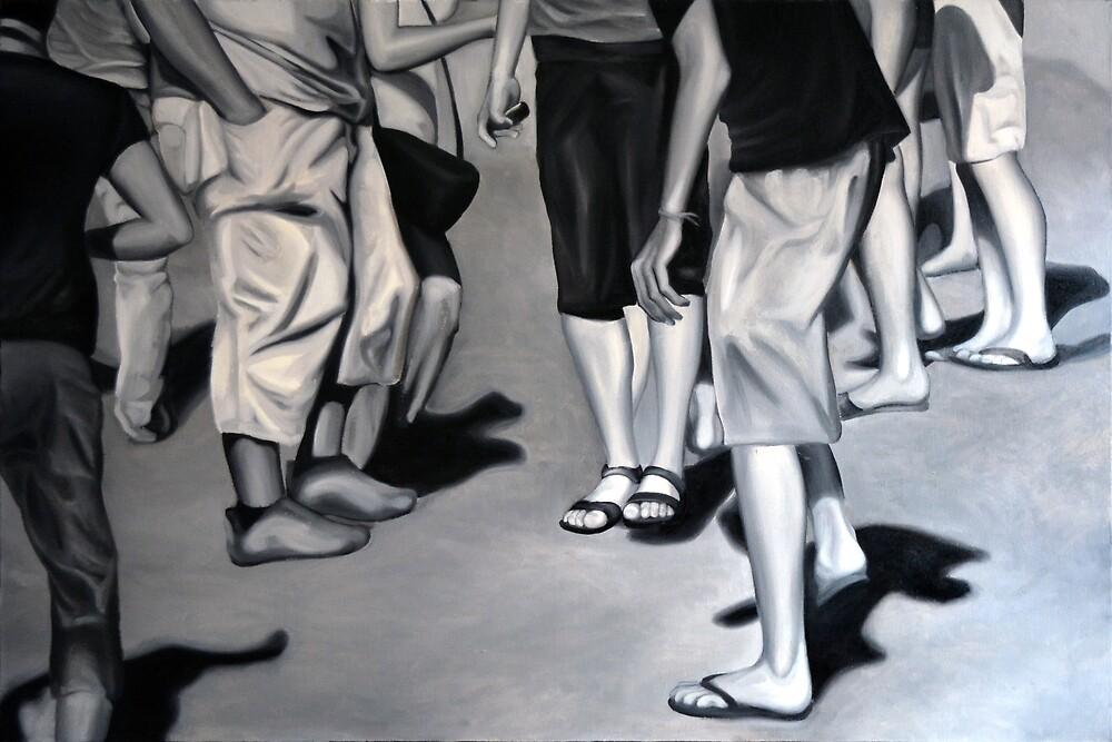 Desert light, 2012, 120-80cm, oil on canvas by oanaunciuleanu
