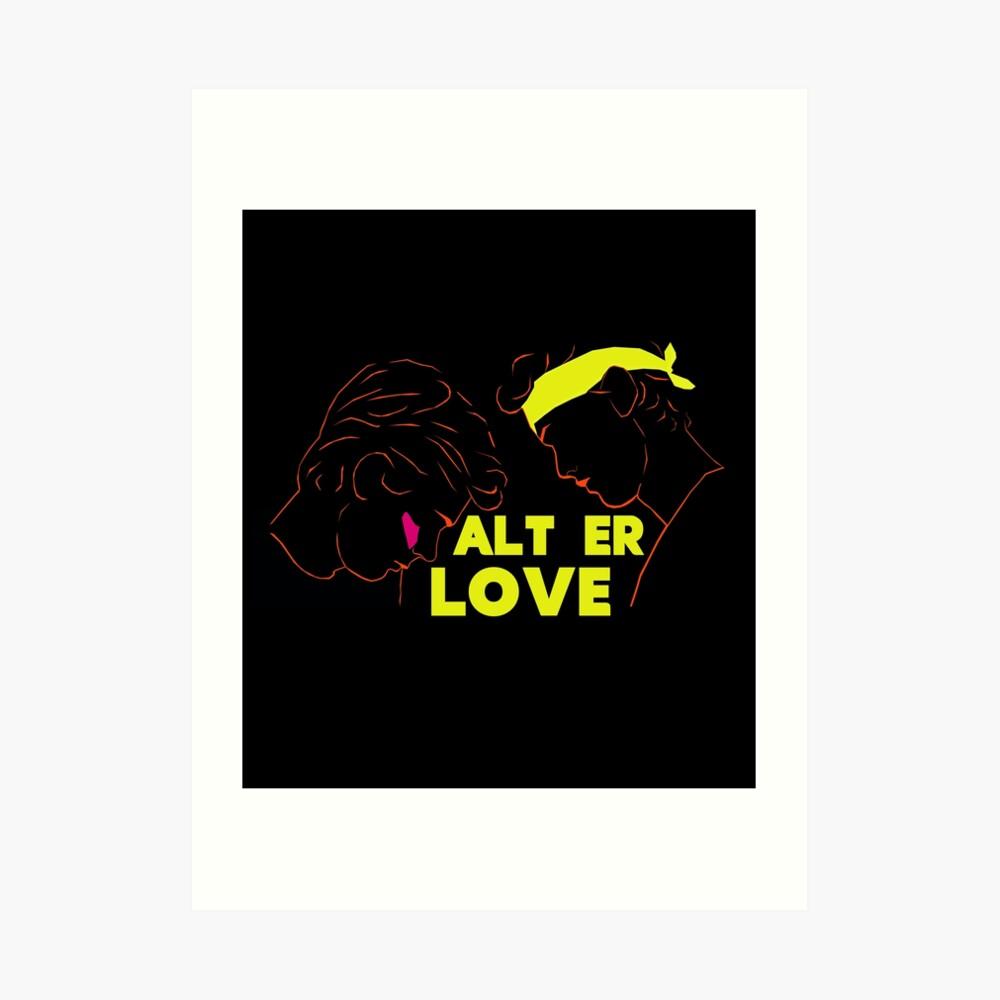 EVAK - ISAK E INCLUSO - ALT ER LOVE - SKAM Lámina artística