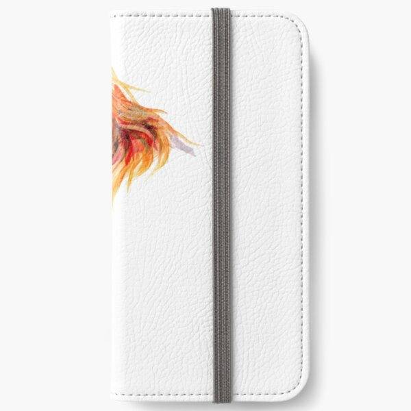 HIGHLAND COW 'PEEKABOO' BY SHIRLEY MACARTHUR iPhone Wallet