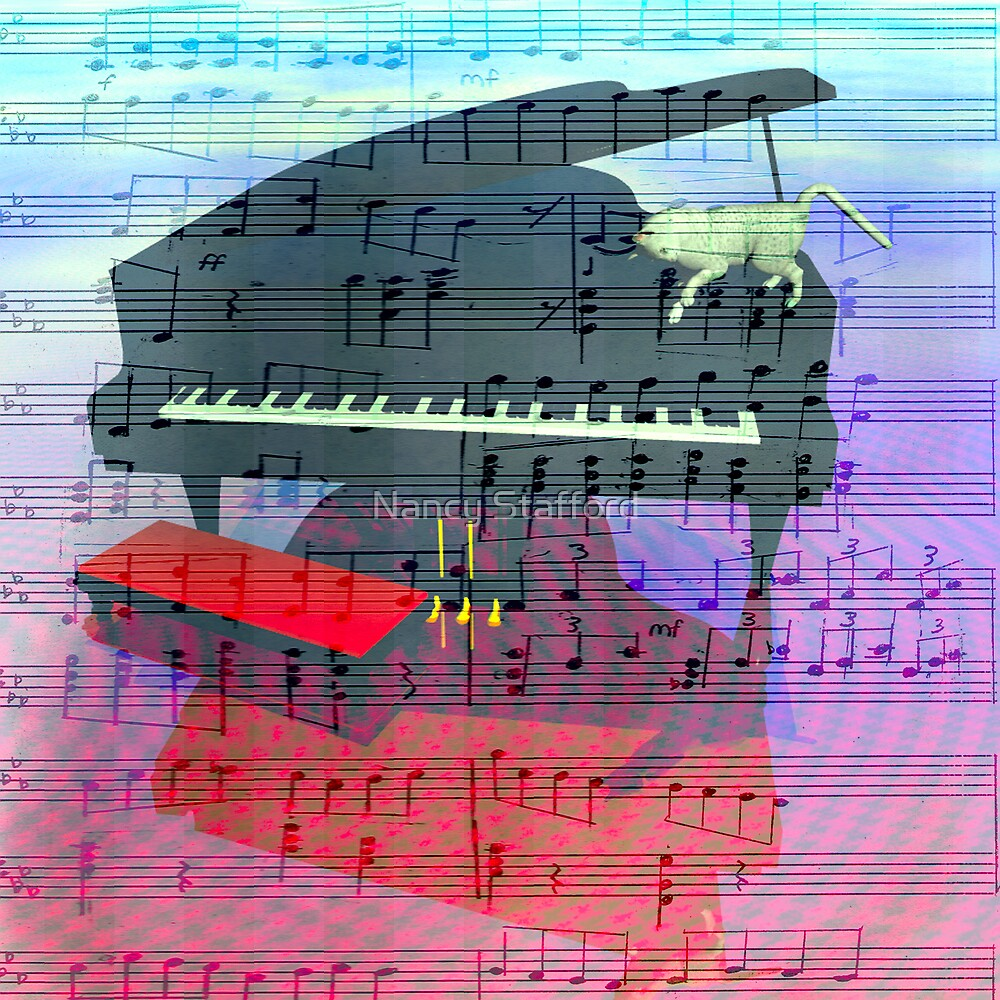 Music of the Piano Player by Nancy Stafford