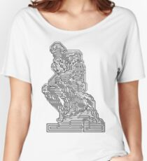 Thinker chip Women's Relaxed Fit T-Shirt