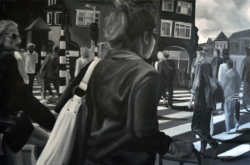 Amsterdam wibe, 2012, 120-80cm, oil on canvas by oanaunciuleanu