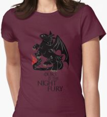How to train your Baratheon Womens Fitted T-Shirt