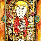 End of year card - The Book of Kells circa 2016 by Gary Shaw