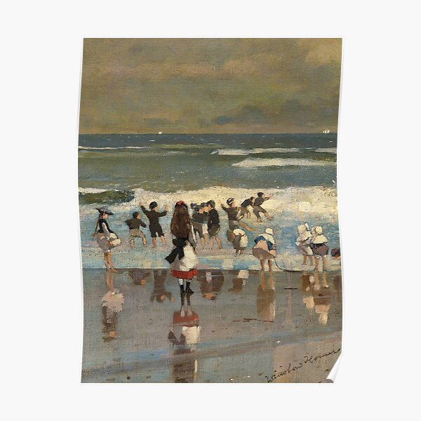 Summer Squall  by Winslow Homer  Paper Print Repro