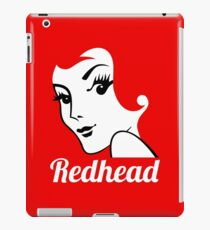 Miss Redhead (text) [iPhone / iPad / iPod case | Tshirt | Print] iPad Case/Skin