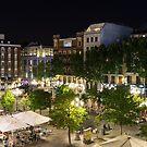 Madrid Nightlife - the Fabulous Plaza de Santa Ana at Night by Georgia Mizuleva