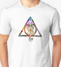 Multicolour Mischief Managed & Dark Mark Emblem  Unisex T-Shirt