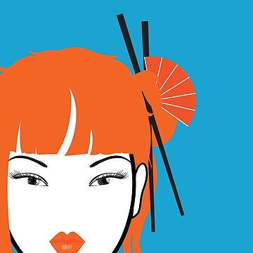 Girl with Orange Hair by EvelynHoward