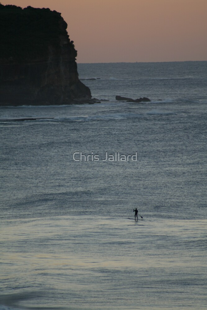 Early Morning Paddle by Chris Jallard