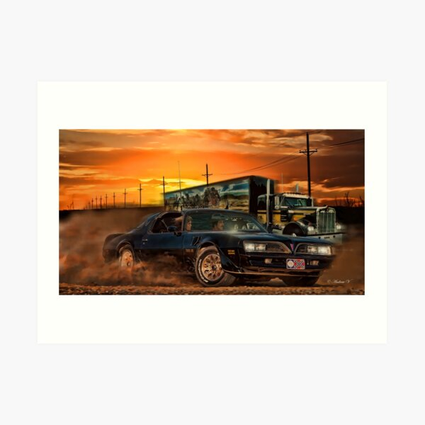 East Bound And Down Art Print